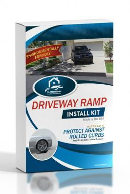 Curb Ramp Box - Driveway Ramp For Lowered Cars