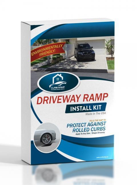 Curb Ramp Box - Driveway Ramp For Lowered Cars
