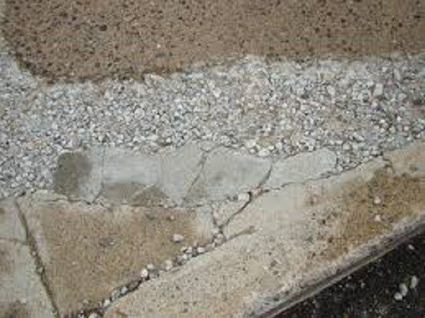 Curb ramp the ultimate driveway ramp kit for Crumbling concrete floor