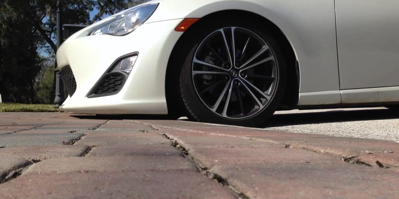 Curb Ramp™ - 5 Car Parts At Risk When You Bottom Out Over A Rolled Curb
