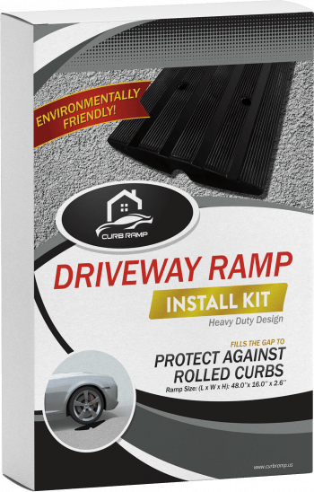 curb ramp for driveway