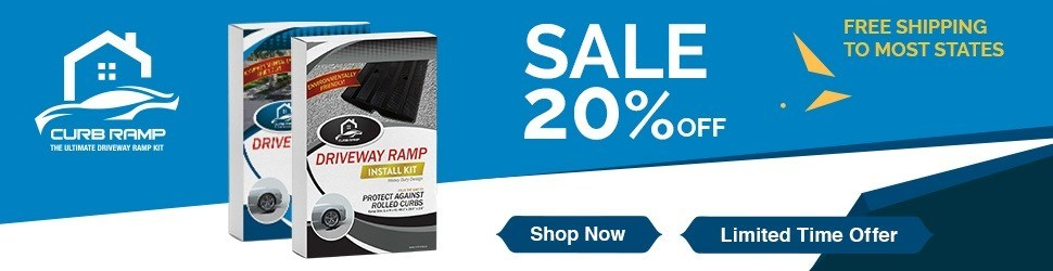 curb ramp sale banner