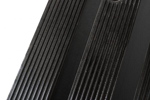 rubber driveway ramp closeup